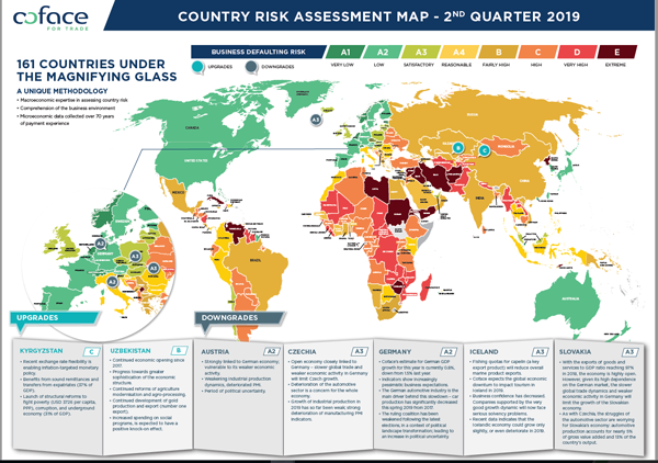 COUNTRY RISK MAP